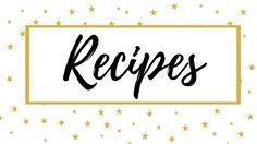 Recipes Board Cover