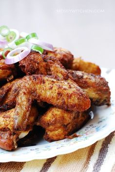These Nyonya-style fried chicken is making my tummy grumble in these wee hours of the morning.