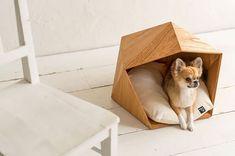 Uma casa para os pets contemporânea e cheia de estilo #pet #house #pethouse #modern #hipster #cat #gato #dog #cachorro #casaparacaes #casaparagatos #casinhadecachorro #petslovers