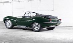 Much loved: The streamlined original XKSS (pictured)  was originally created as a road-goi...