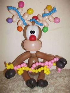 Mooseltoe Twist Balloon Too cute: @Duffy Lieber