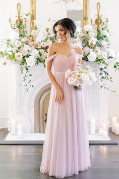 Model: Kamilah, Size: 2, Color: Bradshaw Blush