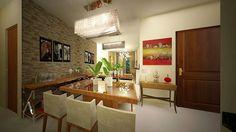 Apartamento Horto - sala de jantar
