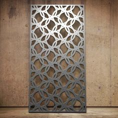 Decorative metal screens and laser cut designs created by Miles and Lincoln and fabricated in the US by GTM Artisan Metal. Laser Cut Screens, Laser Cut Panels, Metal Panels, Outdoor Screen Panels, Decorative Metal Screen, Jaali Design, Feature Wall Design, Hotel Lobby Design, Privacy Fence Designs