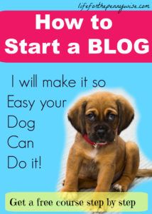 Wow this made it so simple to start my blog! All the tips and the way it was said, I got it! A Must HAVE For starting a blog! So much help!