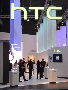 HTC stand Mobile World Congress, Barcelona 2014