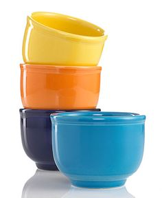 Fiesta® Chili Bowl - Fiesta - Dining & Entertaining - Macy's in cobalt Fiesta Colors, Kitchenware, Tableware, Face Cleanser, Mens Gift Sets, Eyeshadow Makeup, Pottery, Entertaining, Dishes