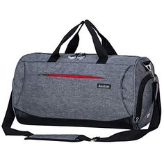 fded77007ad3 Kuston Sports Gym Bag with Shoes Compartment Travel Duffel Bag for Men and Women  Mens Gym