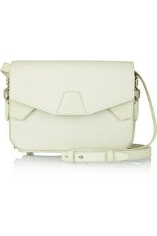 Alexander Wang Tri-Fold glow-in-the-dark leather shoulder bag | THE OUTNET