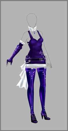 Outfit design - 84 - closed by LotusLumino.deviantart.com on @deviantART