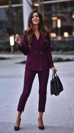 75 Formal Business Attires with Trousers for Women - Page 5 of 5 - Fashiondioxide