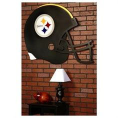 Pittsburgh Steelers Football Helmet Wall Art Decor