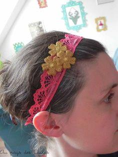 Customiser abat-jour pompons headband dentelle lurex Mercerie Chic Au pays des Cactus 6