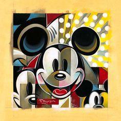 disney cubism   Disney - Mickey Mouse