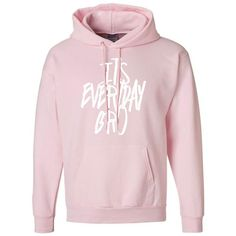 It's Everyday Bro Text Hoodie