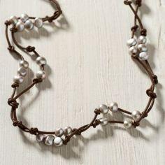 Terrain Scattered Pearls Bracelet, Silver #shopterrain
