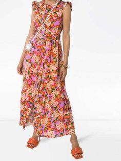Maxi Dresses Uk, Day Dresses, Circle Fashion, Designer Resale, Fruit Print, Dress Collection, Warm Weather, Looks Great, Women Wear