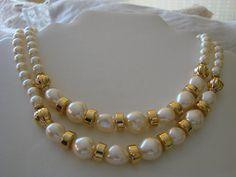 80s TRIFARI Necklace Vintage Designer One or Two by joysshop, $12.95