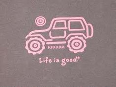 Jeep Girl From Life Is Good And She Is Driving A
