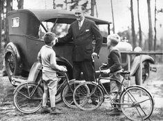 New York Governor Franklin Roosevelt at Warm Springs, Georgia on November 26, 1930, , following his arduous 1930 New York campaign which he won in a landslide.