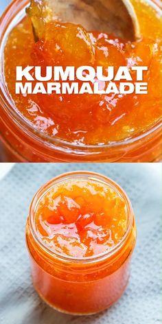 Jelly Recipes, Jam Recipes, Canning Recipes, Fruit Recipes, Fruit Jelly Recipe, Buzzfeed Food Videos, Buzzfeed Tasty, Kumquat Marmalade Recipes, Homemade Marmalade Recipes