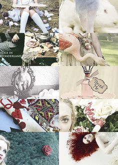 Fairy Tales Picspam (inspired by catmonocles 's mythology series) // Alice's Adventures in Wonderland