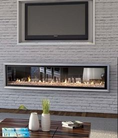The Escea DX1500 see through, double sided inbuilt gas fireplace by Abbey Fireplaces