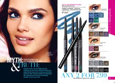 Our #1 selling eye liner: Glimmersticks, 2 for $7.99 lindasbeautyforyou.com #avonrep