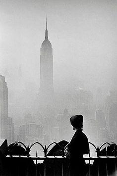 Elliott Erwitt     New York      1955