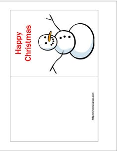 For Free Printable Christmas Cards Templatesa Calendar Variety Card Templates You Diy
