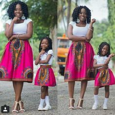 Beautiful Ankara Styles For Mother And Daughter African Dresses For Women, African Print Dresses, African Attire, African Wear, African Women, African Prints, African Fashion Ankara, Ghanaian Fashion, African Inspired Fashion