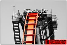 Be different.  Life's a roller coaster. Don't remain seated. @ENJOYOURIDE #EYR www.looseleafbrands.com