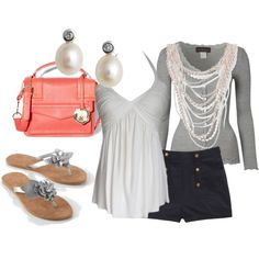 pretty pearls, created by samantha-94 on Polyvore
