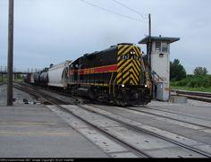 IAIS 717   Description:    Photo Date:  8/14/2005  Location:  Blue Island, IL   Author:  Scott Koehler  Categories:    Locomotives:  IAIS 717(GP38-2)