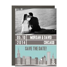 Chicago Photo Save the Date