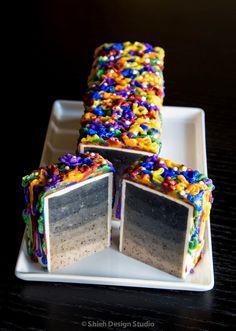 Rainbow Cake Soap by Shieh Design Studio Soap Cake, Christmas Soap, Savon Soap, Cold Process Soap, Soap Recipes, Home Made Soap, Handmade Soaps, Soap Making, Making Ideas