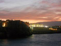 169 Tramonto su largo ardito, Polignano a mare, Bari, Puglia, foto di leoci francesco michele