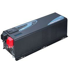 GTSUN 2000W Peak 6000W APV Low Frequency Pure Sine Wave Inverter DC 12V AC 110V220V230V240V Battery Charger MPPT 60Amp Solar Charger Controller LCD Display ACBattery Priority Selectable New23KG ** More info could be found at the image url-affiliate link. #SolarPanelsForHome