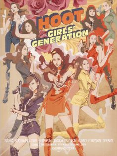 "Girls Generation SNSD ""Hoot"" Anime"