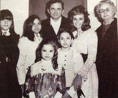 Johnny, Carrie, June Carter Cash, Rosey Nix Adams (carter)