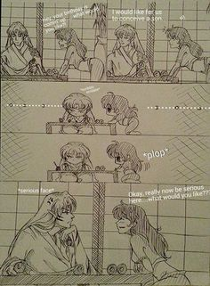 What Would You Like? - SessKag Fan Comic by WhiteRiceLover.deviantart.com on @DeviantArt