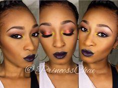 Makeup Tutorial: A Vampy Spring #PrincessChae