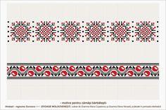 Semne Cusute: romanian traditional motifs - MOLDOVA - Suceava, s. Folk Embroidery, Embroidery Patterns, Stitch Patterns, Moldova, Flower Frame, Couture, Hama Beads, Beading Patterns, Pixel Art