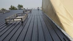 Industrial Metal Roof, report below explains the application scope of work for a liquid rubber roof coating to Metal Roof. Flat Roof Repair, Bragg Creek, Rubber Roofing, Roofing Supplies, Roof Coating, Industrial Metal, Metal Roof, Calgary, July 14
