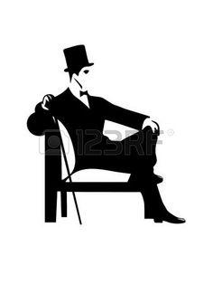 31583081-gentleman-silhouette.jpg (338×450)