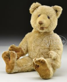 """EXTRAORDINARY RARE AND VERY IMPORTANT STEIFF """"SNAP DICKY"""" BEAR WITH SPRING JOINTS AND STEIFF IDs. $14.812 (2014)"""