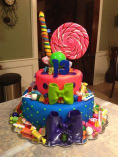 Candy Themed Cake I Made Mallory Gray 50 Cakes Of Grayfacebook 50cakesofgrayinstagram M50cakesofgrayyahoo Memphis TN