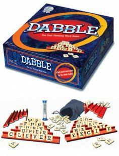 Scrabble might be too old-school for kids, but Dabble? The fun and fast game has players mixing and matching letters to see who can make the most words. It'll keep them thinking and entertained.