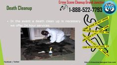 Crime Scene Cleanup Grand Junction | 1-888-522-7793 | Death,Blood,Accident Cleanup