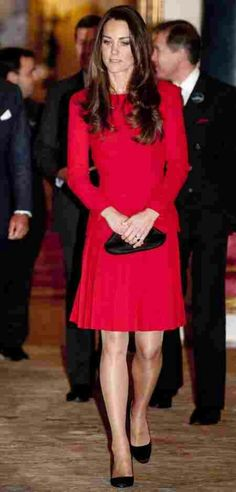 No matter what the Duchess where's Kate Middleton always looks fantastic. I just wish I also had her legs. With my love of the royal family, Victoria